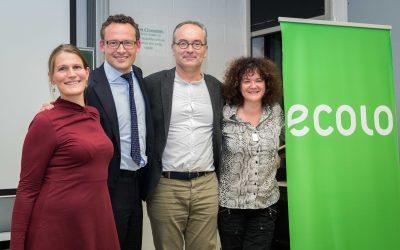 Nouvelle coprésidence pour Ecolo Brabant wallon