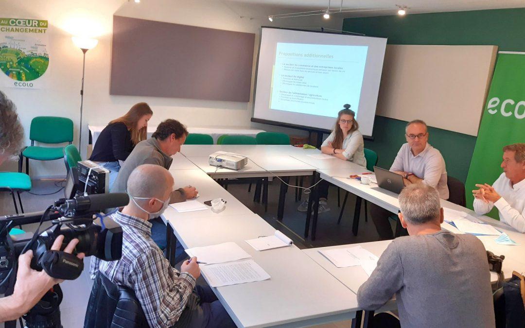 Stratégie de déploiement économique du Brabant wallon: Ecolo réagit